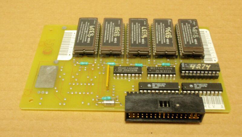 Cincinnati Milacron 3-533-0599G Rev A _ 35330599G Rev A _ Circuit Board PCB