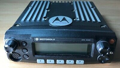 Motorola Xtl 2500 P25 Digital 700800 Mhz - Radio Control Head - M21urm9pw1an