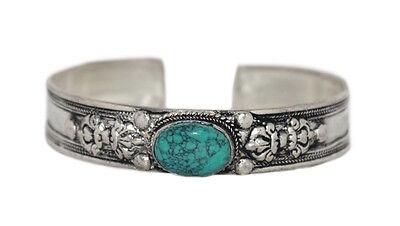 Turquoise Bracelet Silver Bracelet Boho Bracelet Gypsy Bracelet Tribal Bracelet