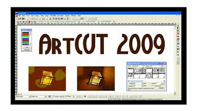 Artcut Software Vinyl Cutter Plotter 2009 Pro Sign Making