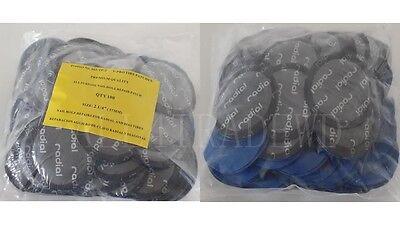 """100 Pieces Radial Repair Round Tire Patch Medium 2.1/4"""" - 57 MM Superior Quality"""