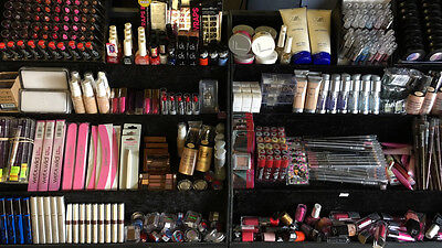 50 x Wholesale Cosmetics Job Lot Branded Makeup Eye Lip  All Full Size