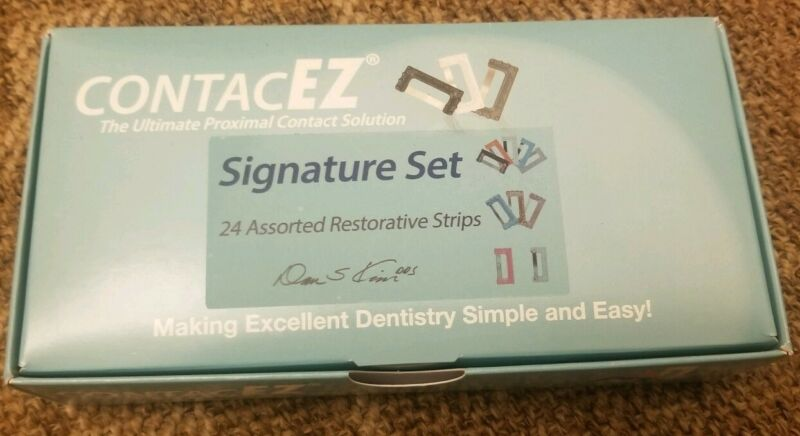 Dental ContacEZ IPR Restorative Strip Orthodontic Interproximal Reduction 24pcs