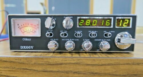 Vintage Galaxy DX66V CB Radio RADIO MIC In Original Box in Excellent Condition