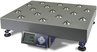 New Mettler Toledo Bc-60u Shipping Scale 150lb Ball Top Platter With Usb Cable
