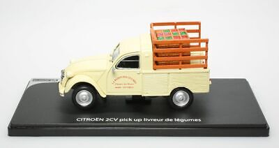 Citroën 2Cv pick up livreur de légumes 1/43