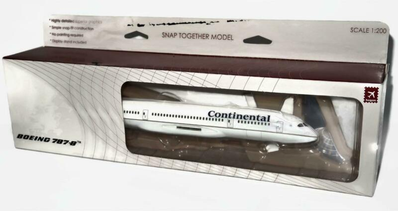 Daron Trading Model Airplane 1:200 Continental Airlines Boeing 787-8, #3596 New