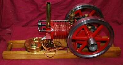 Briggs Stratton Fh Made Into Hit Miss Model Gas Engine Motor