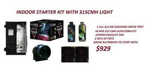 HYDROPONICS INDOOR STARTER KIT WITH CMH LIGHT Wangara Wanneroo Area Preview