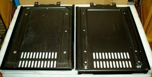 2 Motorola Syntor X9000 Radio Mounting Metal Bracket VHF UHF Vehicle Trunk Floor