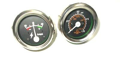 Massey Ferguson Oil Pressure Gauge Ammeter 1080 110011301150135150165175