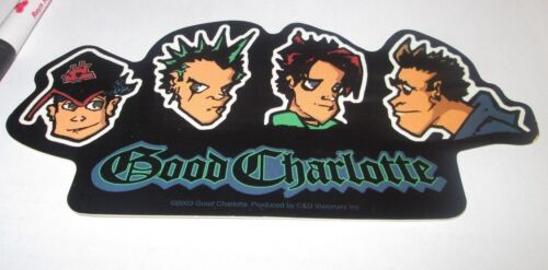 GOOD CHARLOTTE STICKER NEW 2003 VINTAGE OOP RARE COLLECTIBLE