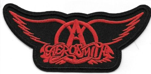 Aerosmith (band) Embroidered Patch Iron-On Sew-On US shipping