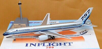 """""""FREE US SHIPPING"""" Inflight 200 EASTERN AIRLINES Boeing 757-200 N501EA POLISHED"""