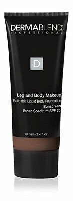 Dermablend Leg and Body Makeup Body Foundation SPF 25 Deep Natural 85N 3.4 oz
