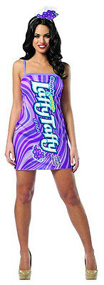 Laffy Taffy Grape Tank Costume Dress](Halloween Costume Grapes)