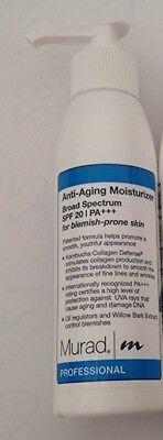 Murad Anti-Aging Moisturizer Broad Spectrum SPF 20 PA+++ for blemish-prone skin (Spf Face Cream For Acne Prone Skin)