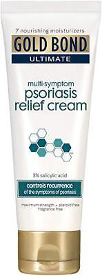 Psoriasis Relief (Gold Bond Ultimate Multi-Symptom Psoriasis Relief Cream 3.5 Ounces each)