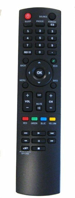 NEW SYLVANIA REMOTE NH210UD TV LC190SS2, LC220SS2, LC260SS2,
