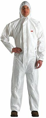3M 49789 Disposable Protective Coverall Safety Work Wear 4510-BLK-L ()