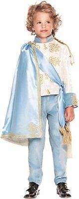 Italienische Herstellung Deluxe Jungen Blau Prince Charming - Prince Charming Kostüm Junge