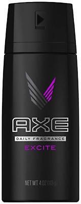 Axe Daily Fragrance Spray, Excite, 4 oz (2 Pack)