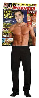 Enquirer Magazine Cover Mens Adult Costume Funny Muscles Halloween Party