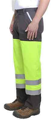 - CATERPILLAR Men's High Visibility Paving Roads Pants NWT Size: 36 X 34 FREE SHIP