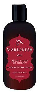 Marrakesh Marrakesh Oil Hair Styling Elixir, 8 Ounce