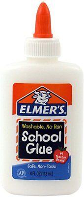 Elmer's Washable School Glue 4 - 4 Ounce School Glue