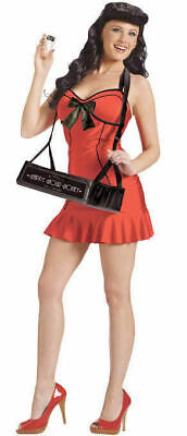 Fun World 122364 Vintage 40s Pin Up Cigar Girl Halloween Party Costume S/M, M/L