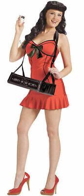 40s Pin Up Girl Costumes Halloween (Fun World 122364 Vintage 40s Pin Up Cigar Girl Halloween Party Costume S/M,)