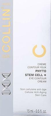 New & Seal G.M. GM Collin Phyto Stem Cell+ Eye Contour 0.5 oz 15 ml EXP 6/2022