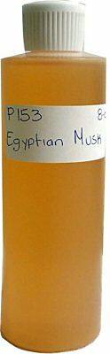 Egyptian Musk Bargz Perfume Body Oil Scented Fragrance Light Brown 8 oz 1 Pack ()