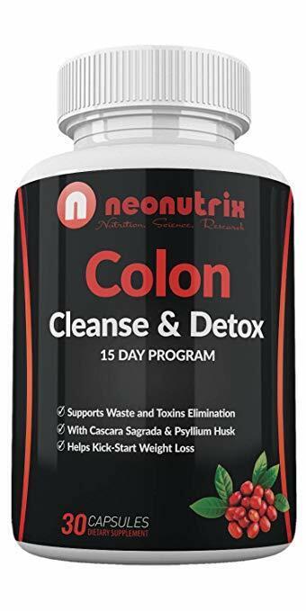 Colon Cleanse & Detox Capsules Dietary Supplement for Men- Women, 15 Day Detox