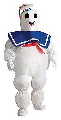 Rubies Ghostbuster Aufblasbar Puft Marshmallow Kinder Halloween Kostüm - Kinder Ghost Buster Kostüm