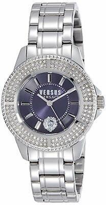 Versus by Versace Women's SH7220015 Tokyo Crystal Analog Quartz Silver Watch