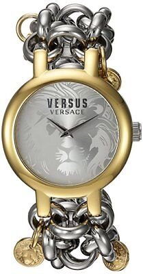 Versus by Versace Women's Agadir SGO270016 Gold IP Stainless Steel Watch