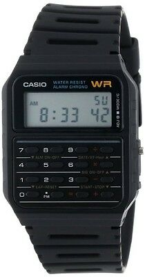 Casio Ca53w 1 Classic Digital 8 Digit Calculator Watch Alarm Stopwatch Day Date