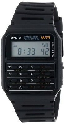 Casio CA53W-1 Classic Digital 8-Digit Calculator Watch Alarm Stopwatch Day/Date