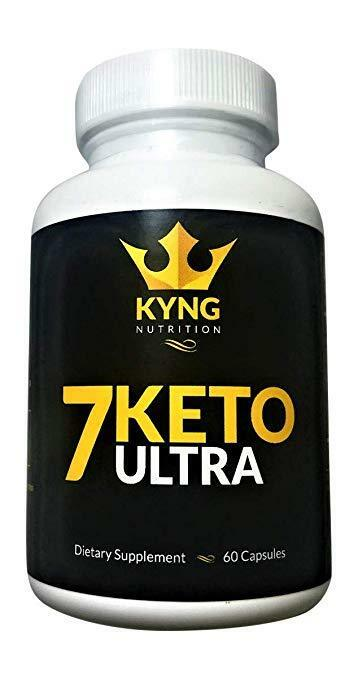 7 KETO Diet Pill Supplement Weight Loss Ketosis Fat Burner