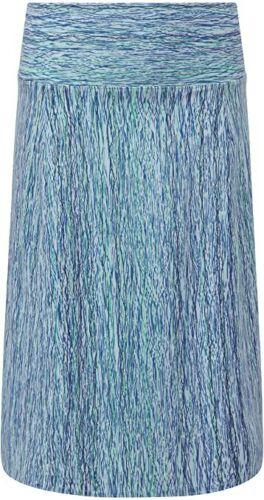 "Mint Royal Robbins Womens Stretch Travel Blue Stretch Skirt Large 30-32"" waists"
