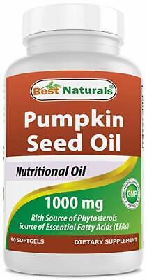 Best Naturals Pumpkin Seed Oil 1000 mg 90