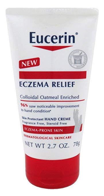 NEW Eucerin Eczema Relief Hand Cream 2.7 Ounce Tube, $10
