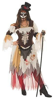Rubies Curvy Conjure Voodoo Plus Size Adult Womens Halloween Costume 821040 - Busty Halloween Costumes