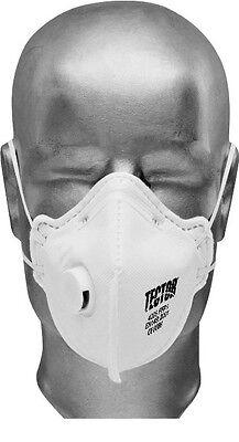 Feinstaubmaske FFP2 Ventil seitlich Staubmasken Atemschutzmaske Staubmaske Tecto
