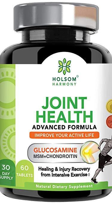 Glucosamine Chondroitin MSM. Joint Pain Relief withTurmeric