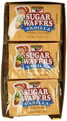 Keebler Vanilla Sugar Wafers, Twelve 2.75 Ounce Packs