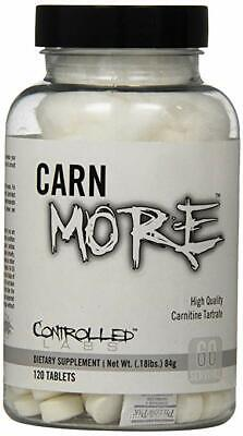 Controlled Labs | CARNmore L-Carnitine + L-Tartrate | 1000 mg x 120 Tablets