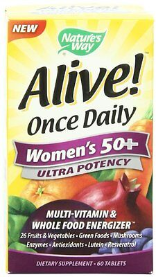 Nature's Way Alive Once Daily Women's 50+ Ultra Potency M...